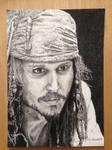 Captain Jack Sparrow by SistaArtista
