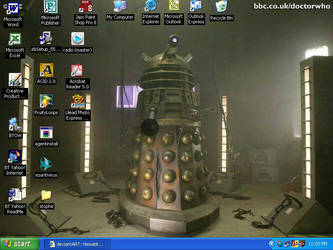 The Dalek by HematiteEyes