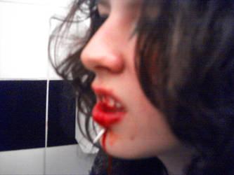 Blood everywhere . . . by HematiteEyes