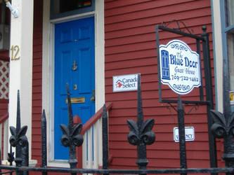 The Blue Door by tangledupinbrown