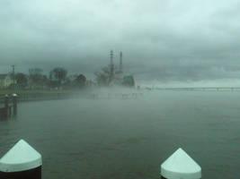 Mist on the Nanticoke by lockswriter