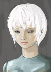 Portrait for a robot (25) by Philia1008