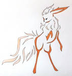 Flareon tribal design by Oneiria-Fylakas