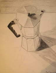 Coffee pot, normal by MikeWeasel