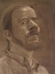 Self-portrait, redux by MikeWeasel