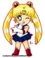 Sailor Moon. by amethyst-rose