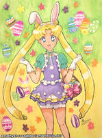 Easter Usagi (Sailor Drops) by amethyst-rose