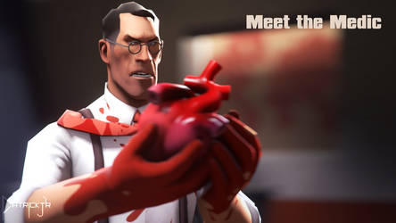 SFM Poster: Meet the Medic by PatrickJr