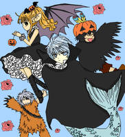 +anima halloween by floraxj9