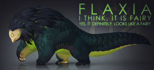 [CLOSED] Adopt auction -  FLAXIA by quacknear