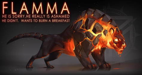 [CLOSED] Adopt auction - Flamma by quacknear