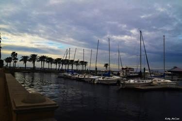 Boat Yard by NikonChrome