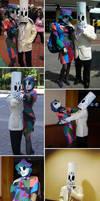 Grim Fandango Costumes - DONE by amygirlgermanpants