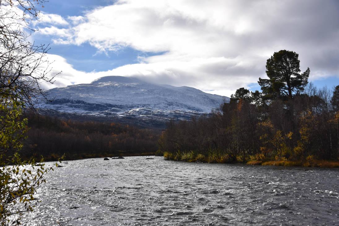 Mountain River by IGhengisKhanI