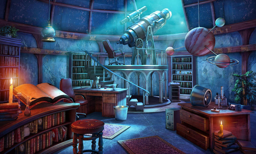 Observatory Room by ikamitic