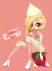 Strawberry Cream by Slugbox
