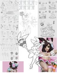Idol Bunny Ayumi Figure by Slugbox
