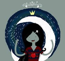 Vampire queen Marceline (Adventure Time) by rmalo5aapi