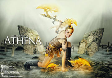 The Greatness Of Athena by VespaCeper