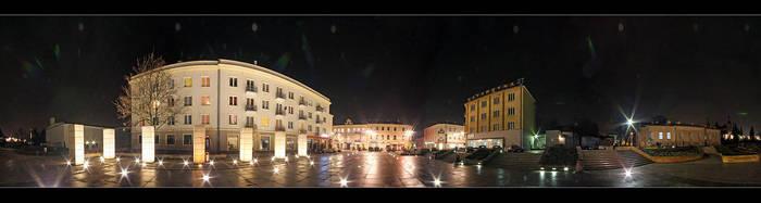 Kielce night 3 by Morlen