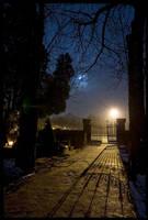 Kielce night 6 by Morlen