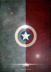 Captain America. Winter Soldier. By ColourOnly85 by ColourOnly85