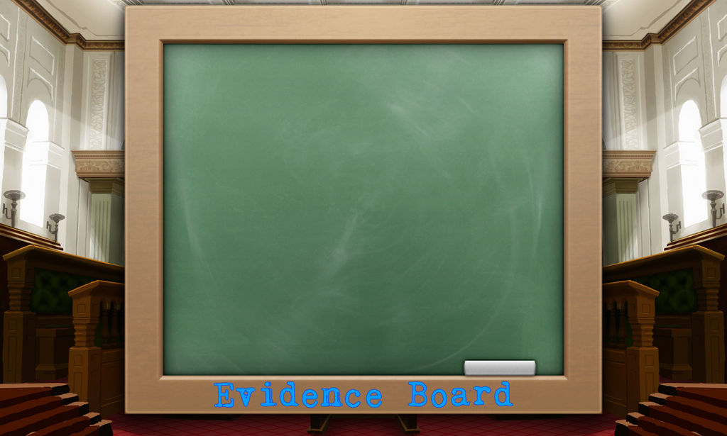 Evidence Board by GalacticAttorney