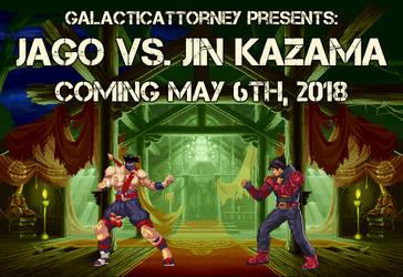 Jago vs. Jin Kazama: COMING SOON! by GalacticAttorney
