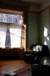 Living Room Shadow by 25thFloor