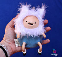 Adventure Time Finn the Human - Soft Kriture Plush by Darkween