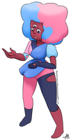 Cotton Candy Garnet by BananimationOfficial