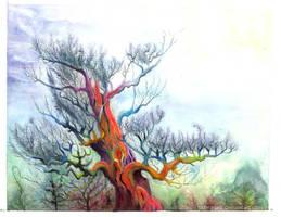 Red Pine by Tistelmark