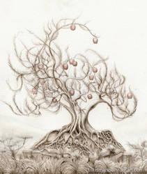 The Sacred Apple Tree by Tistelmark