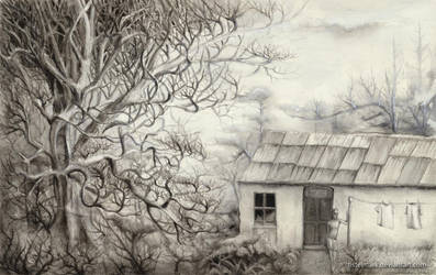 Under the oak trees by Tistelmark
