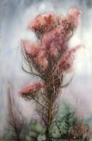 October Tree by Tistelmark