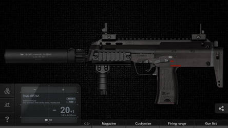 Ace's MP7A2 by 685eric685