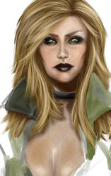 je continue ma Sniper Wolf by OneWingedSoul