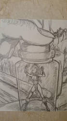 Witch Doctor's Shrunken Victim by GiantGripper