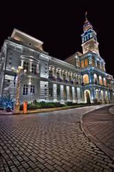 Arad - city hall HDR by lesogard