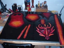 Dragoness Pouch WIP 7 by Red-Dragon-Lord