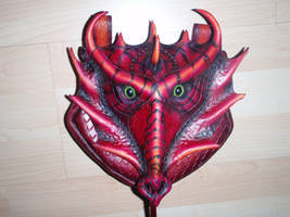 Dragoness Pouch Detail by Red-Dragon-Lord