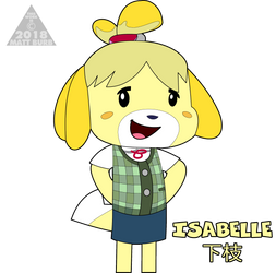 (NDD18) Isabelle by TheYoshiState