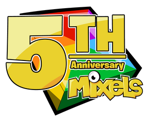 Mixels 5th Anniversary Logo by TheYoshiState
