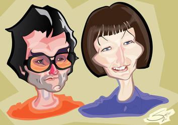Caricature 1 by LaserDatsun