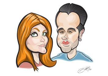 Caricature 2 by LaserDatsun