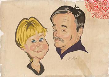Caricature 5 by LaserDatsun