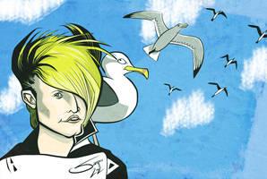 A Flock of Seagulls - Mike Score by LaserDatsun