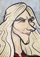Game of Thrones - Viserys Targaryen Caricature by LaserDatsun