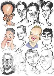 Caricature practice by LaserDatsun