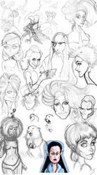 Sketchdump 2011 by LaserDatsun